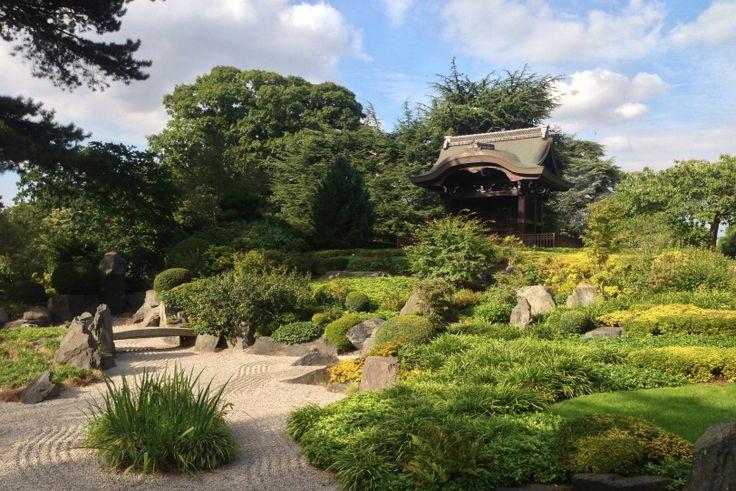 Japanese landscape at Kew Gardens | HoneySicle Studios