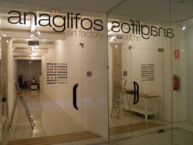 Anaglifos, venue for Semiofest 2013 in Barcelona.