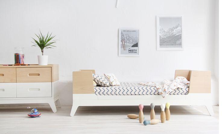 Stylish, contemporary kids room