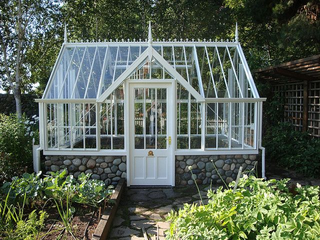 Victorian Glasshouse by Private Garden Greenhouse Systems, via Flickr