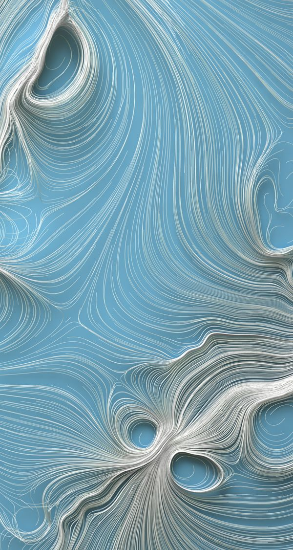 Fabricated waves. #Behance always has inspiring stuff.