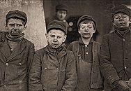 A website featuring the work of Lewis Hine. He told the stories of child labourers through photographs.