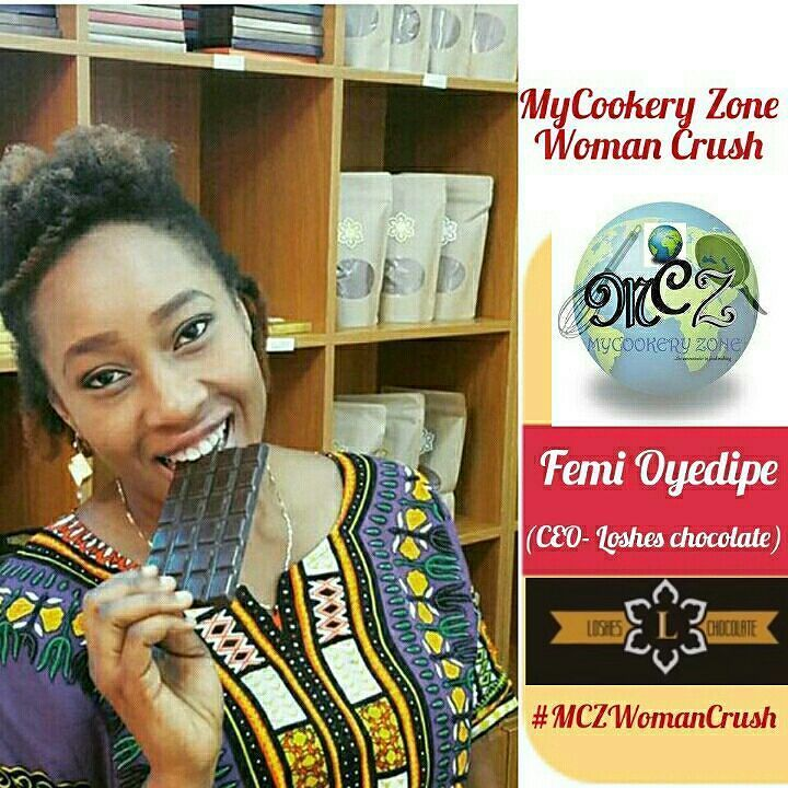 Mrs Femi Peter Oyedipe @losheschocolate is our woman crush for this #FoodyWednesday.  Femi Oyedipe is an entrepreneur chocolate enthusiast mother role model outlier and of cause a foodie. Founder of Loshes Chocolate-  a Bean-To-Bar factory one of Nigeria's leading chocolate company known for using locally sourced cocoa beans and giving consumers that desired yummy pleasure in their taste buds. A Single Origin Chocolate Maker and Chocolatier operating in Lagos Nigeria. Loshes deliver hand…