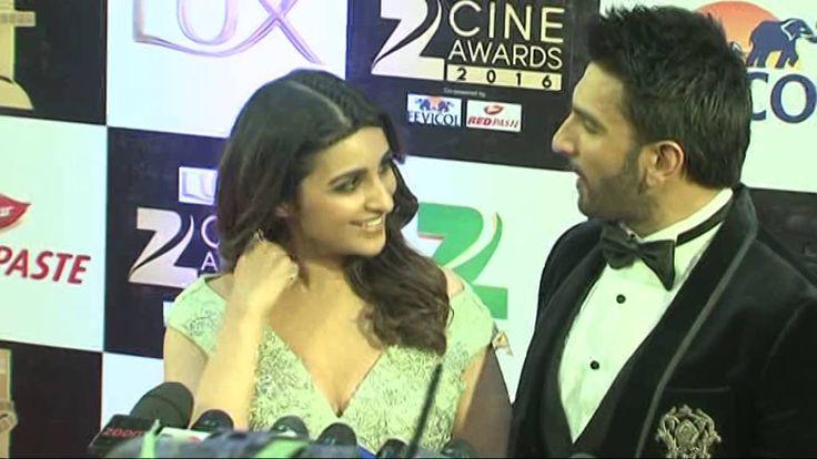 Zee Cine Award 2016    Ranveer Singh, Pariniti Chopra,  Radhika Aapte