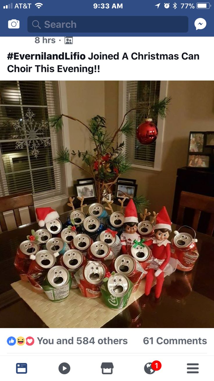 Don't mind we took a few friends from the north pole . They will leave soon .