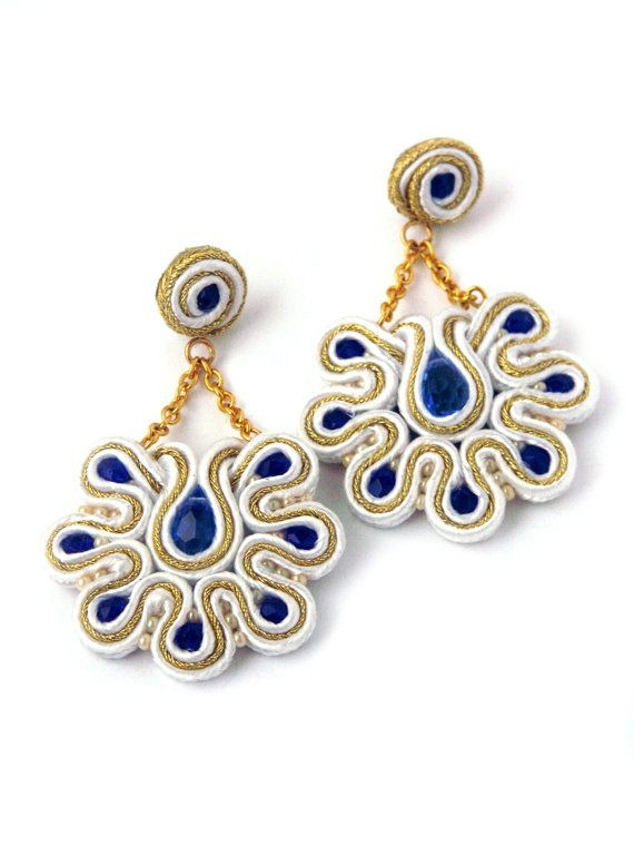 soutache - earrings