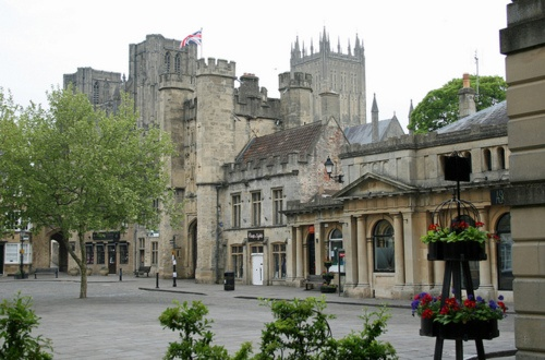 Wells, Somerset, UK. Sang here with Huish School Choir ! Revisited as an adult. Amazing place!!