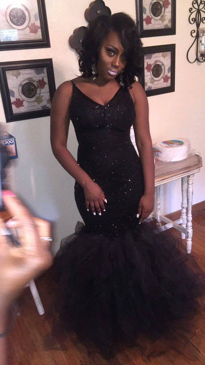 Black dress goals - Find This Pin And More On Prom Dresses