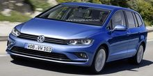 2015 Volkswagen Touran imagined