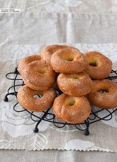 Rollicos de naranja al horno. Receta de postre fácil y sencilla