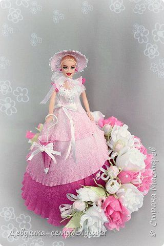 Sweet Design Birthday Doll Simulation design of sweets Flora corrugated paper photo 1