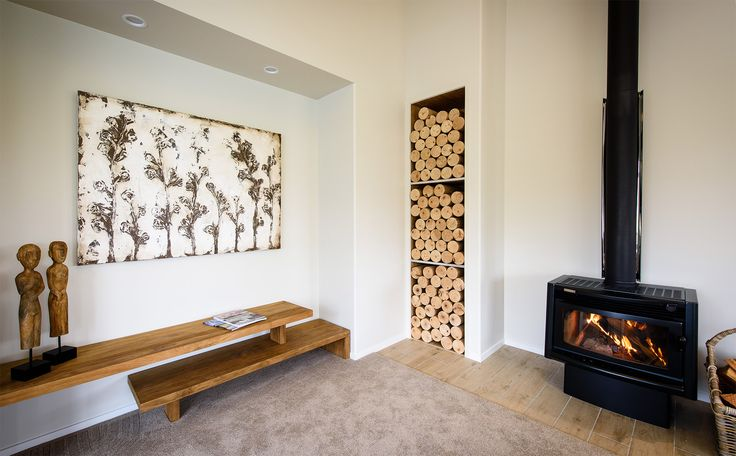 This great area in this G.J. Gardner home will keep everyone warm through winter.