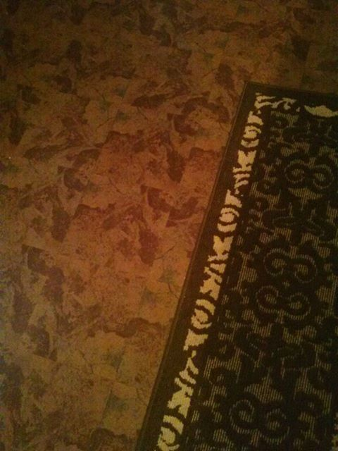 Diy Self Adhesive Floor Tiles For Kitchen Floor. Easy And Cheap