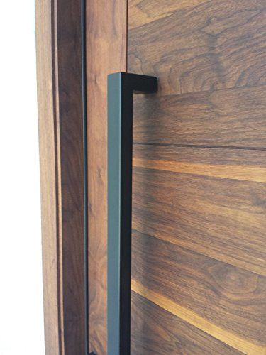 166 Matt Black Modern Stainless Steel Sus304 Entrance Entry Commercial Office Store Front Wood Timber Glass Garage Commercial Aluminum Door Pull Push Handles Double-sided (24 Inches /600x25x38mm) amoylimai http://www.amazon.com/dp/B00MUJLISW/ref=cm_sw_r_pi_dp_zDkAwb1ZTAQ2W