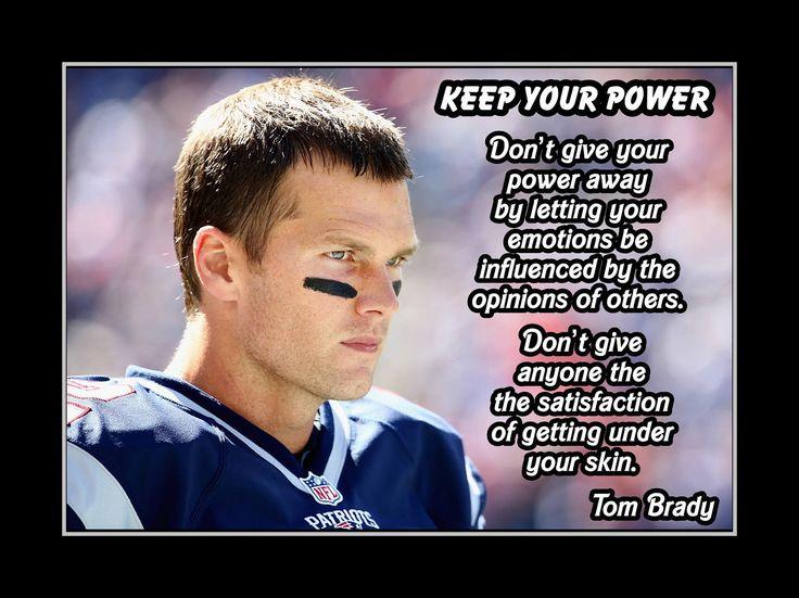 17 Best Tom Brady Quotes On Pinterest