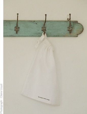White linen laundry bag 56 x 70cm Also available in charcoal  www.thestanleysupplystore.com