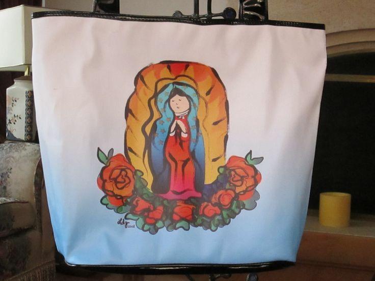 Cartera Virgen de Guadalupe Dimensiones: 48x36cm