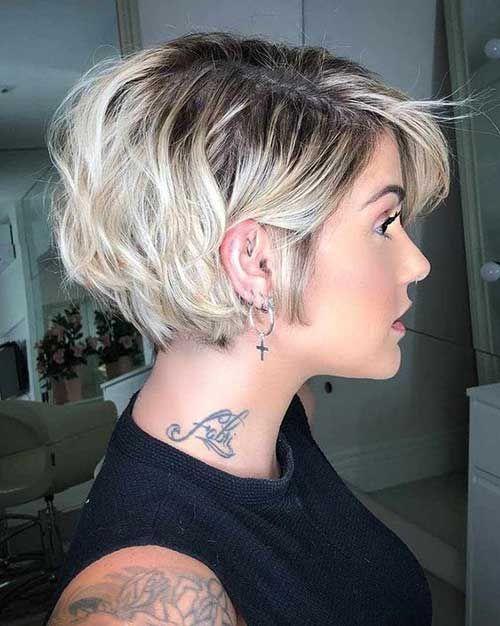 20 Stylish Short Haircuts for Thick Hair