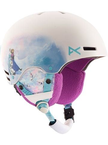 Shop the Disney Frozen Rime Helmet by Anon along with more Kids' Snowboard and Ski Helmets from Winter 16 at Burton.com
