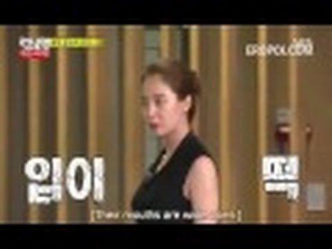 Song Ji Hyo wearing see through dress