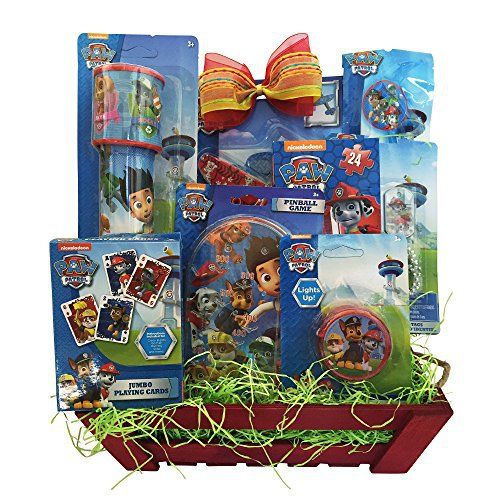 55 best easter baskets images on pinterest easter easter basket paw patrol easter children gift baskets for boys girls of all age http negle Images