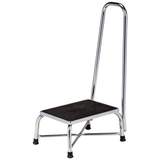 Bariatric Step Stool,w/ hand rail, Exam Room Application