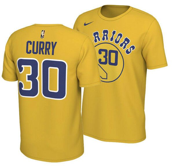 outlet store e4603 a8eb4 Nike Stephen Curry Golden State Warriors Classic Name and ...