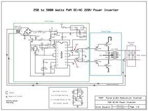 5000 watt amplifier circuit diagram 2004 gmc envoy xuv radio wiring 250 to watts pwm dc ac 220v power inverter حامد pinterest picture of