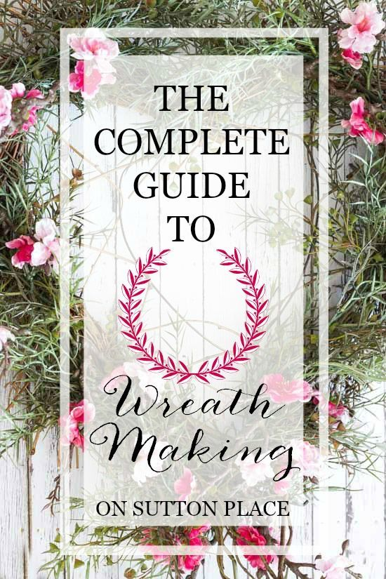 Wreathmaking 101 | Complete instructions to create a wreath from scratch plus a gallery of ideas for every season.