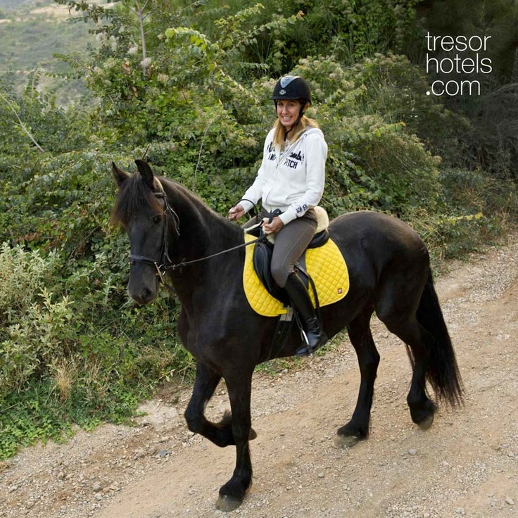 Trésor Hotels and Resorts_Luxury Boutique Hotels_#Greece_ The surrounding area of #Trikala #Korinthias offers a wide range of outdoor experiences that will acquaint you with the county of #Arcadia. If you are interested in horse riding then the #Pliadon Gi #hotel will get you into contact with the Centre of #Horse #Riding in the area of Rethi which also provides lessons to children or beginners.