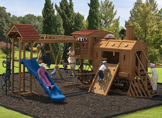 outdoor playsets train google search play sets pinterest plays