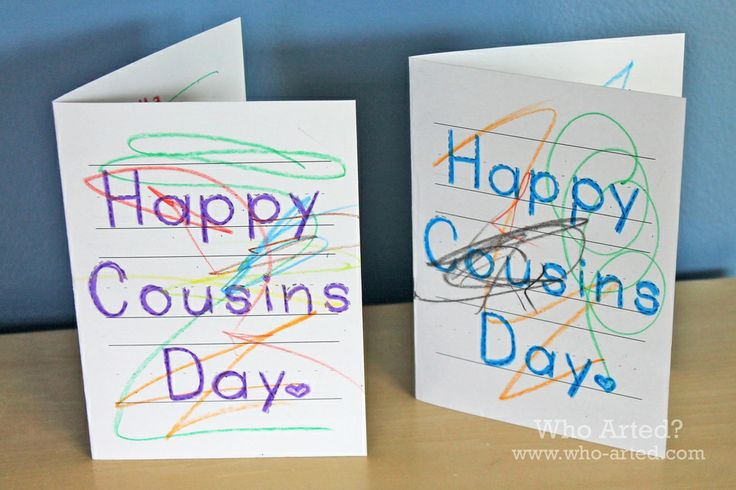 Free Cousins Day Cards