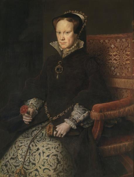María Tudor, reina de Inglaterra, segunda mujer de Felipe II