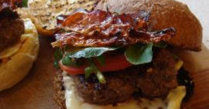 Asiago and Beef Burgers