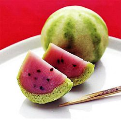 夏の和菓子,スイカの御菓子