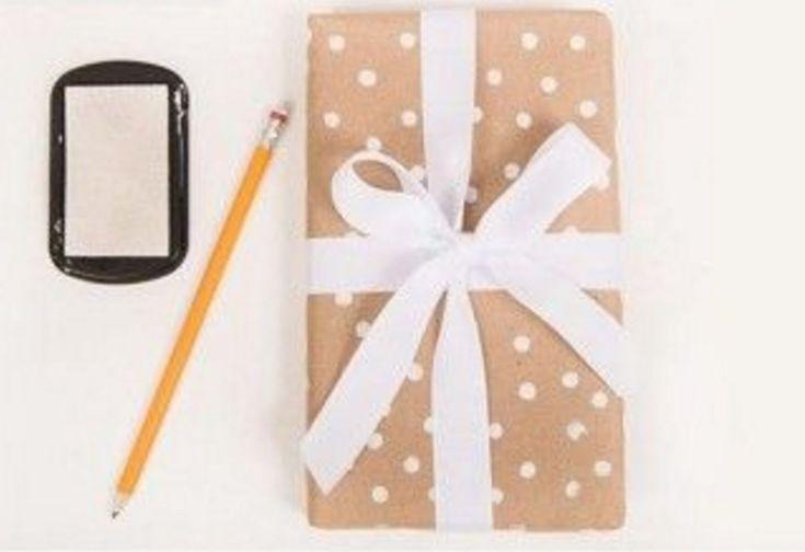 Christmas Gift Wrapping Ideas: Easy Polka Dot Presents