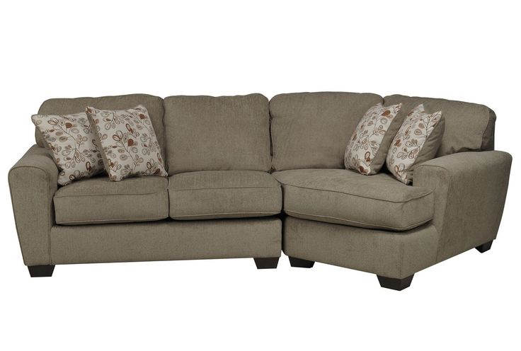 Best Patola Park 2 Piece Sectional W Raf Cuddler Chaise Parks 640 x 480