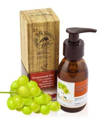 Druivenpitolie 100ml. Pure olie uit druivenpitten als basis voor cosmetica