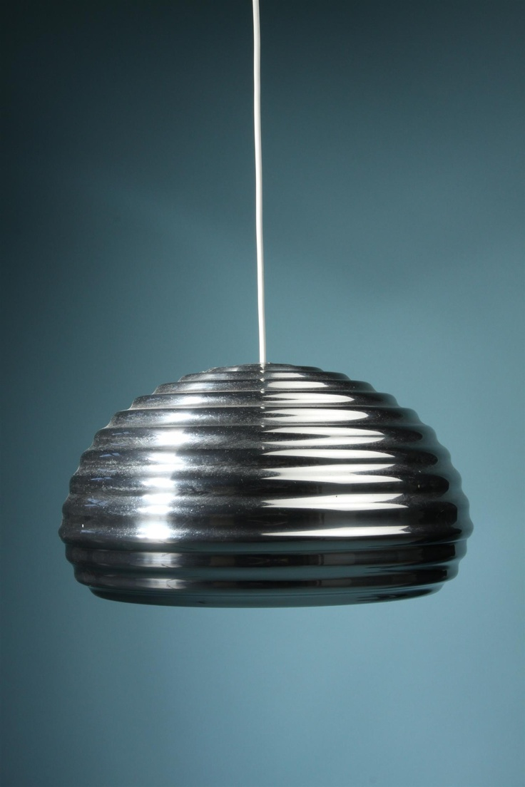 Ceiling lamp, Splugen brau. Designed by Achille Castiglioni for Flos, Italy. 1961.