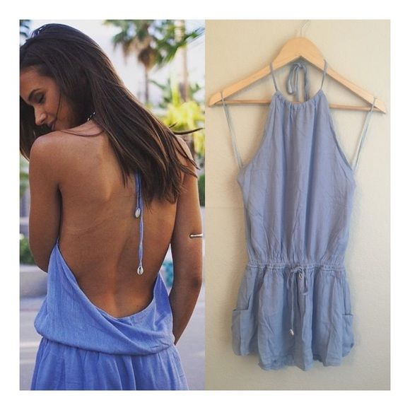 Casual light blue festival dress MODEL IS WEARING THE EXACT PRODUCT    I own an online boutique called Danalli, most of what we sell are brands/items you'll find at stores such as Nasty Gal, Urban Outfitters, Nordstrom, ASOS, PacSun, etc. just at more affordable prices 😘  Any questions? Don't hesitate to ask 💕 Dresses Mini