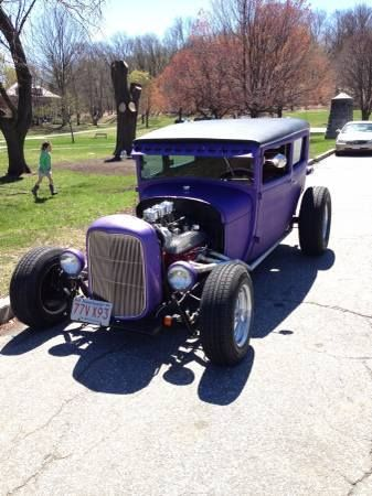 1929 Ford Model A Street Rod (MA) - $16,000 Please call Lawrence @ 978-458-7103 to see this Street Rod.