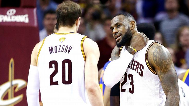 Cavaliers center Timofey Mozgov out 10-14 days with shoulder strain