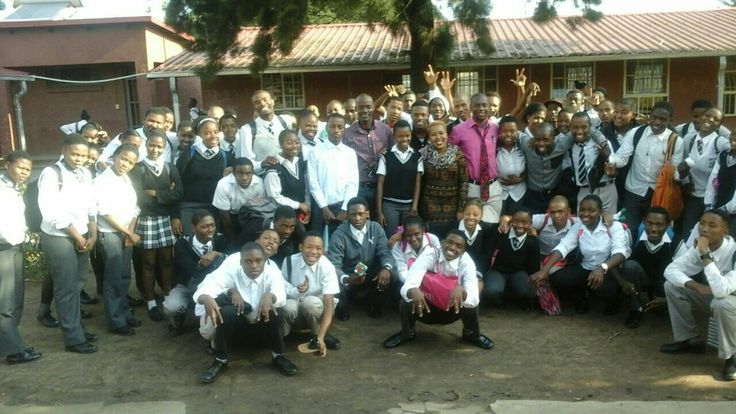 Lebohang Secondary school matriculants