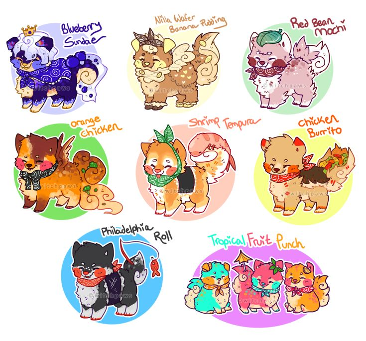 January+2014+Sushi+Dog+Customs+by+witchpaws.deviantart.com+on+@deviantART