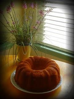 Pound cake.  Delicious, delicious, pound cake.