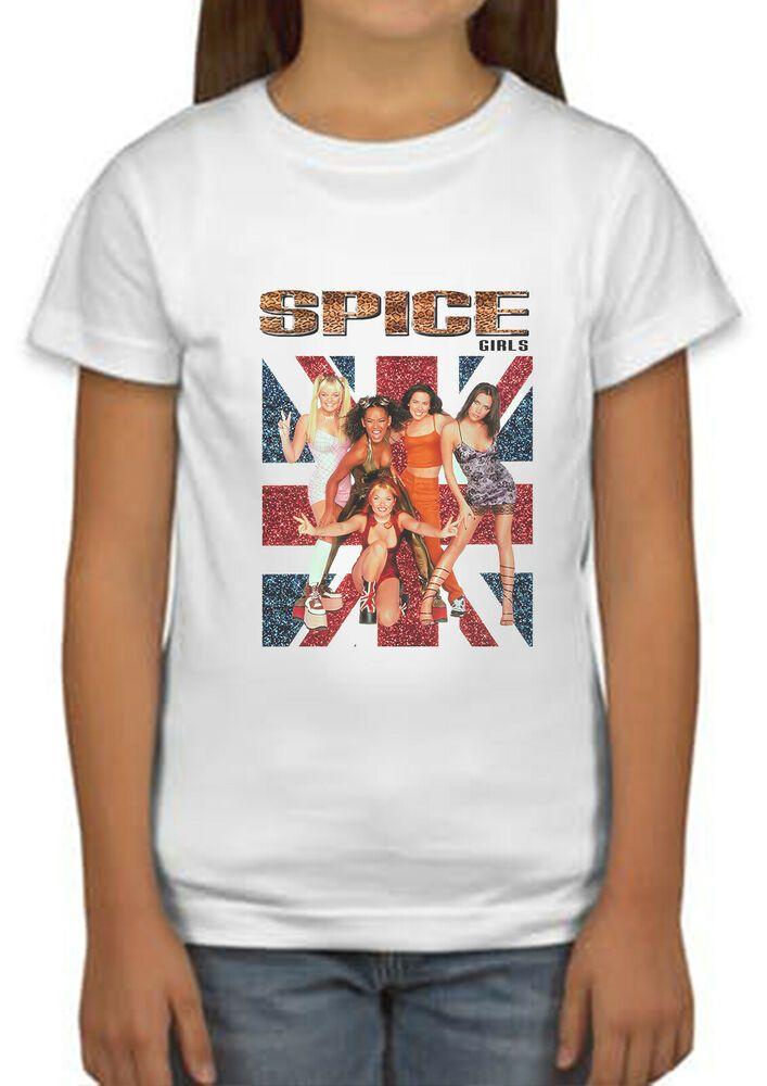 Spice Girls Tour 2019 Concert T Shirt Ladies Girls Boys Kids Unisex Top Gift 309