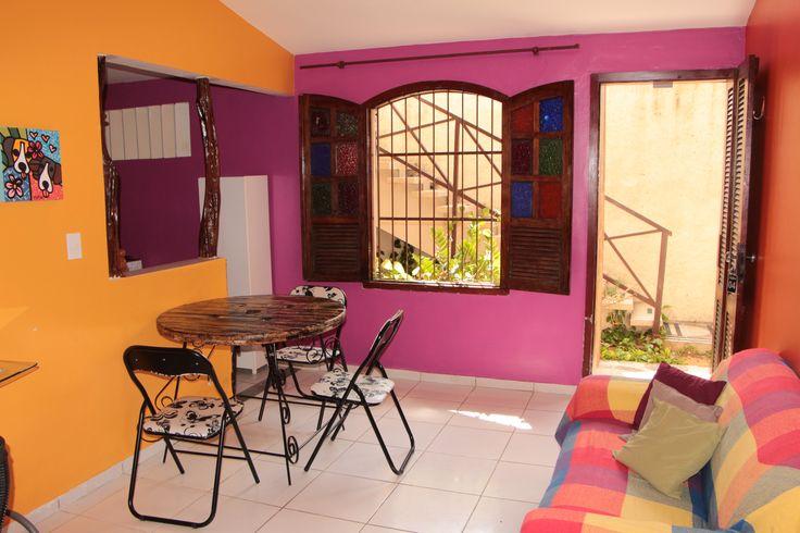 Apartamento Quadruplo sala e cozinha