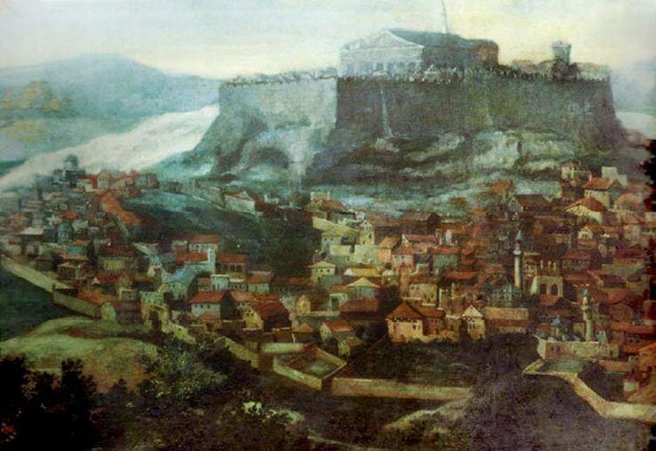 Athens, Greece, 1670s (Osmanlı Dönemi Atina, Yunanistan)