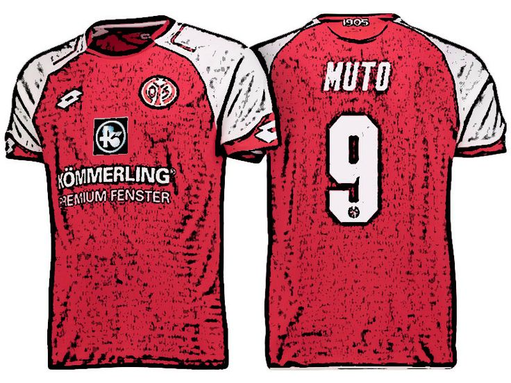 FSV Mainz 05 Kit Jersey For Cheap yoshinori muto 17-18 Home Shirt
