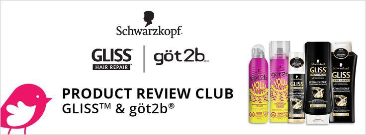 New Product Review Club Offer / Club des bancs d'essai : GLISS™